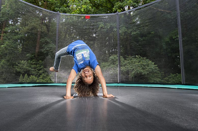 Koop een trampoline met veiligheidsnet voor je kinderen